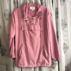Oversized jacket pink size medium